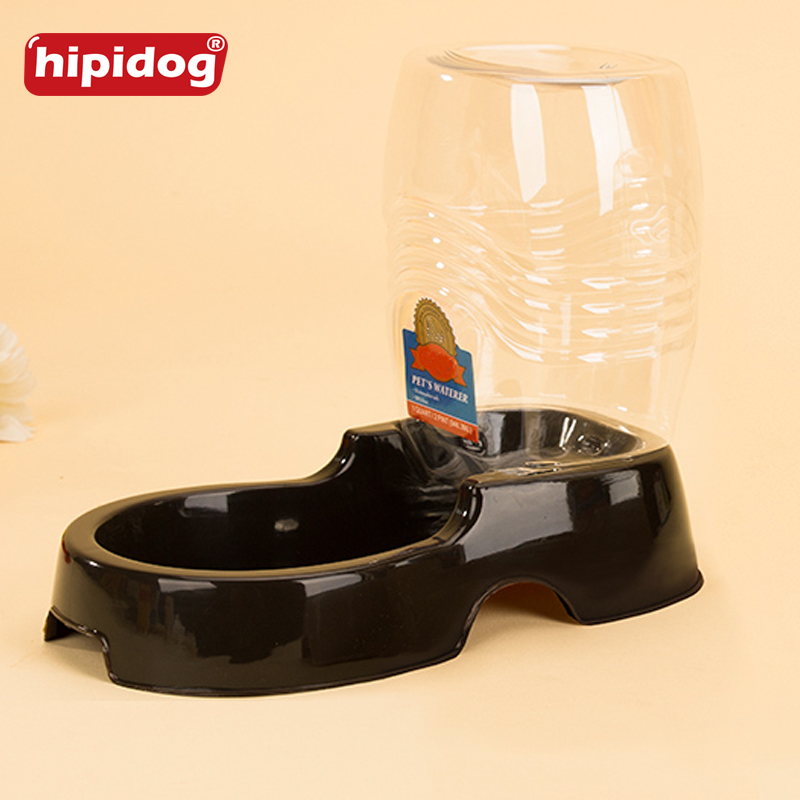 Hipidog Pet Drinking Water Device 1L Pet Dog Cat Grain Storage Plastic Barrel Food Dish Pet Products Supplies Accessories in Dog Feeding from Home Garden