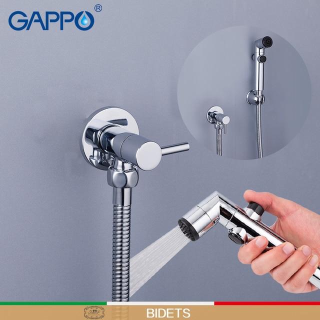 GAPPO bidety muzułmański prysznic bidet kran bidet przenośny pralka mikser dotknij ścienny opryskiwacz kran