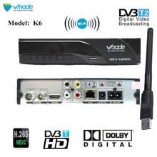 цены на DVB T2 TV Tuner DVB-T2 Receiver Full-HD 1080P Digital Smart TV Box Support AC3 MPEG4 H.265 HEVC with wifi for Czech Republic RU  в интернет-магазинах
