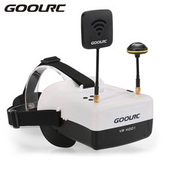 GoolRC RC Quadcopter VR HD01 5.8G 40CH Duo Antennas FPV Goggles Video Glasses VR Glasses for QAV250 FPV Racing Drone H501S