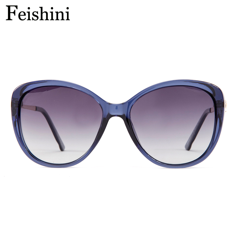FEISHINI 58900 High Grade Vintage oculos de sol feminino Moda HD Limpar  Oval Pink Ladies Óculos De Sol Mulheres Polarizada Marca 2018 em Óculos de  sol de ... 77ae8a8e1d