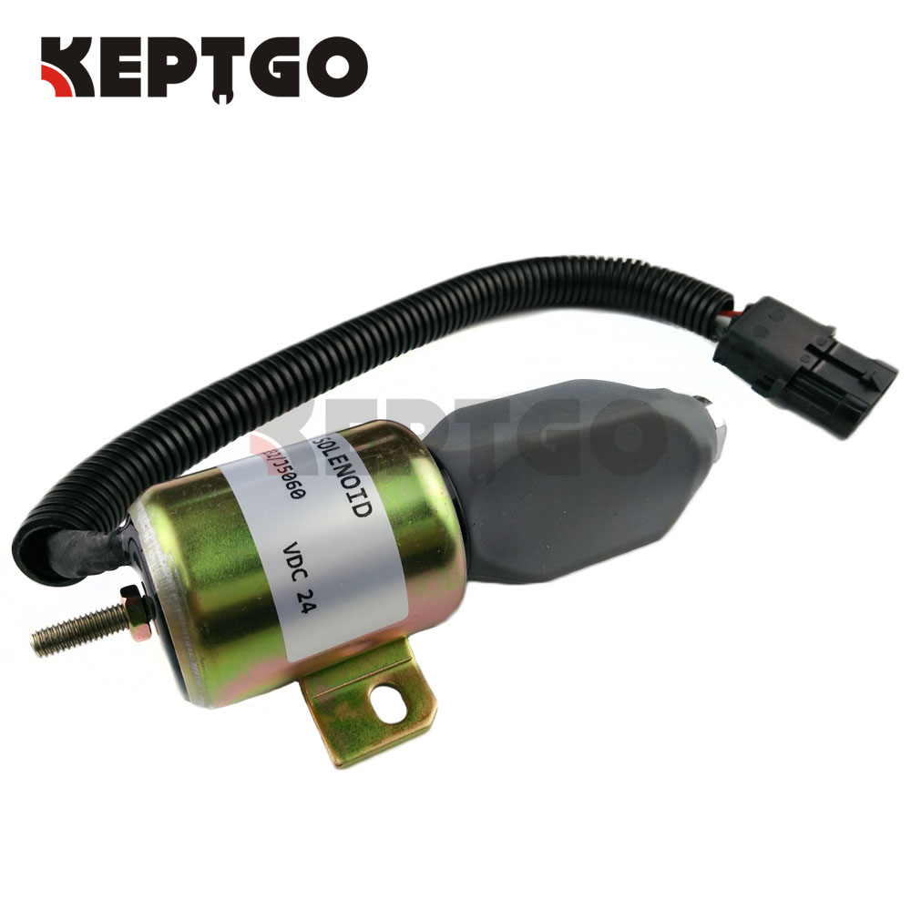 716/30091 24v Fuel Shutoff Stop Solenoid For JCB плоскогубцы jcb jpl005