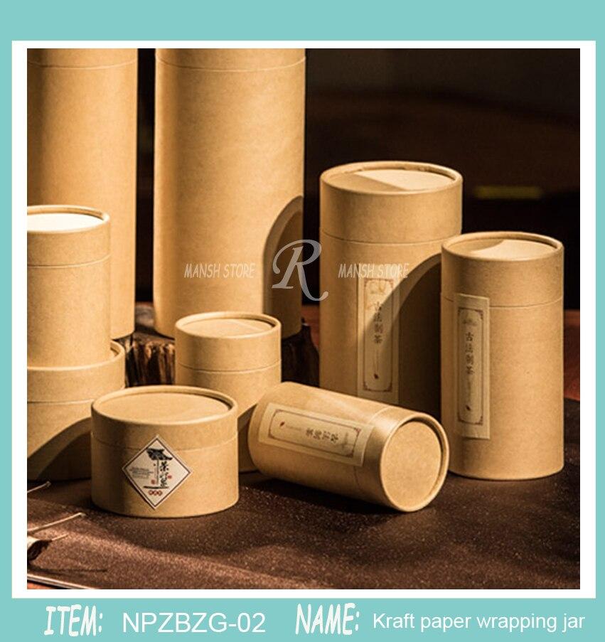 20pcs 50g 30g 80g100gTea Packaging Tube Drawing Tube