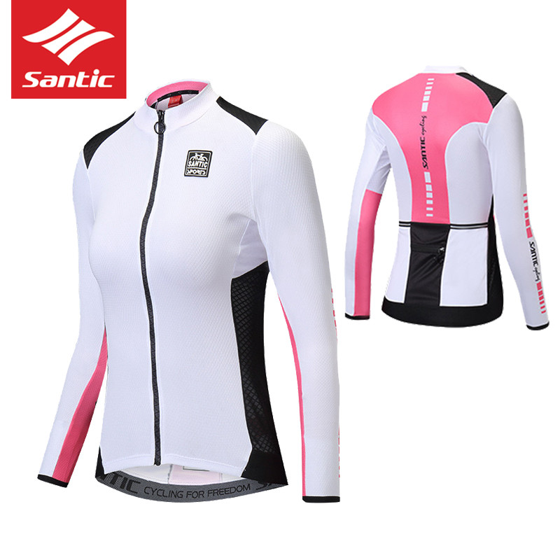 2018 SANTIC Women Cycling Jersey Bike Clothing Maillot Ciclismo MTB  Downhill Top Bicycle Long Full Sleeves Shirt Anti UV Clothes-in Cycling  Jerseys from ... da0c749c6