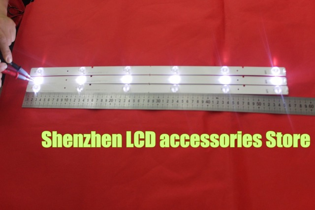Светодиодная лента 11 шт./лот для HISENSE 50 дюймов 50K20JD, 6 светодиодный 56 см, светодиодная подсветка svh500a22 _ rev05_6 светодиодный одов _ 131113 56 см, новинка 100%