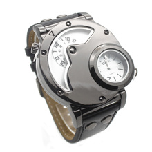 ot03 Luxury watch brand sports high quality men's casual double Watch