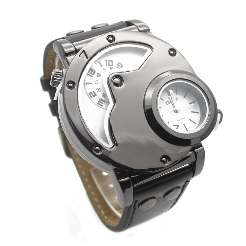 ot03 Luxury watch brand sports high quality men s casual double Watch