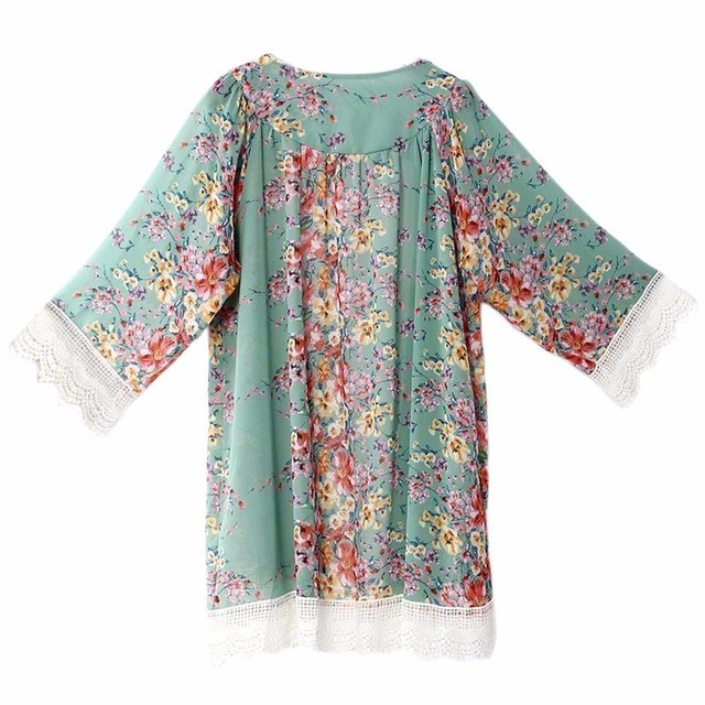 ENXI Female Blouse Plus Size Women's Cardigan Clothes For Pregnant Women Floral Shirts Tops For Maternity Femininas Clothing 1