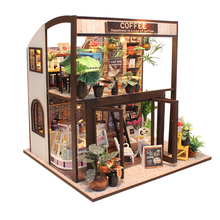 DIY Doll House Wooden Miniature Doll