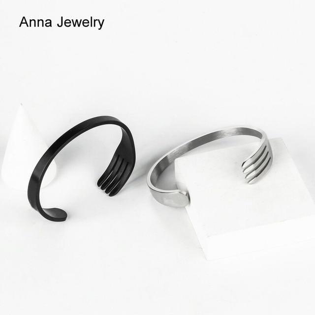 Fork Shape Cuff Bracelet  4
