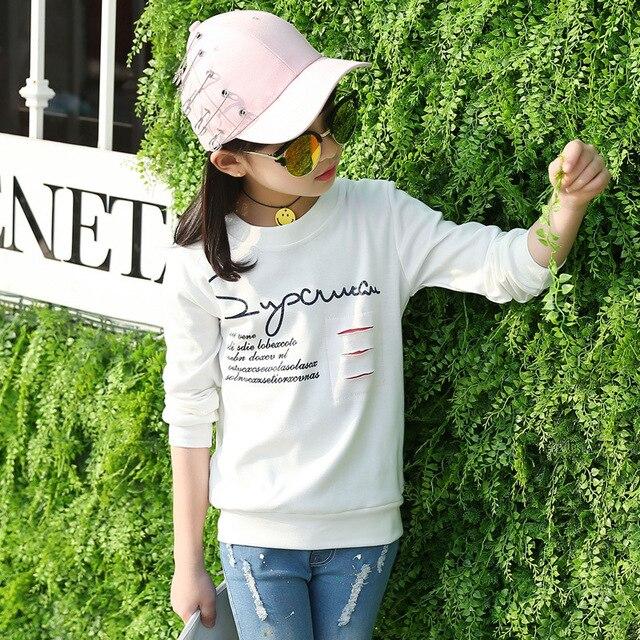 Девушки футболка camiseta roupas infantil menino дети тенниски poleras infantiles детская одежда письмо печати Футболки топы девушка