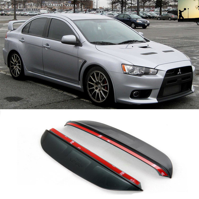 Beautiful Para Mitsubishi Lancer Evolution Evolution X De 2007 A 2016 Estilo Do Carro  à Prova De