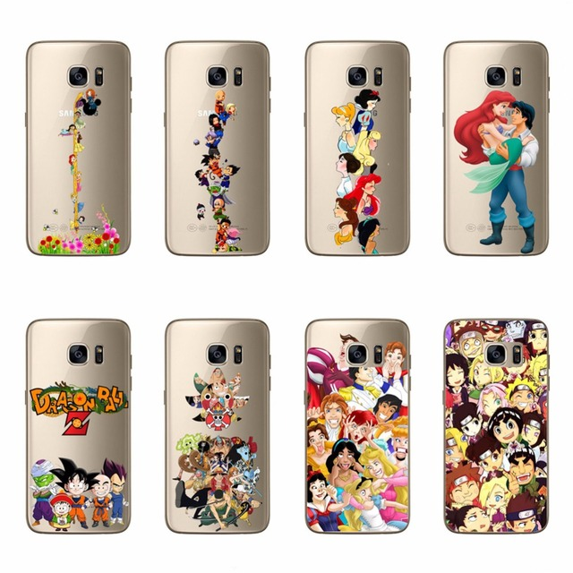 Dragon Ball One Piece Naruto Covers For Samsung Galaxy