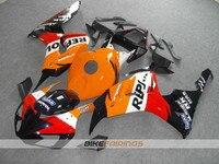 New ABS motorcycle Bodywork fairing kit 100% Fit for Honda CBR1000RR 06 07 fairings parts CBR 1000 RR 2006 2007 Orange black