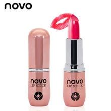 NOVO Carrot Long-Lasting Lipstick Waterproof Brand All Day WearinLip Stick Lipsticks Nude Lip Stick Lip Gloss Batom Makeup