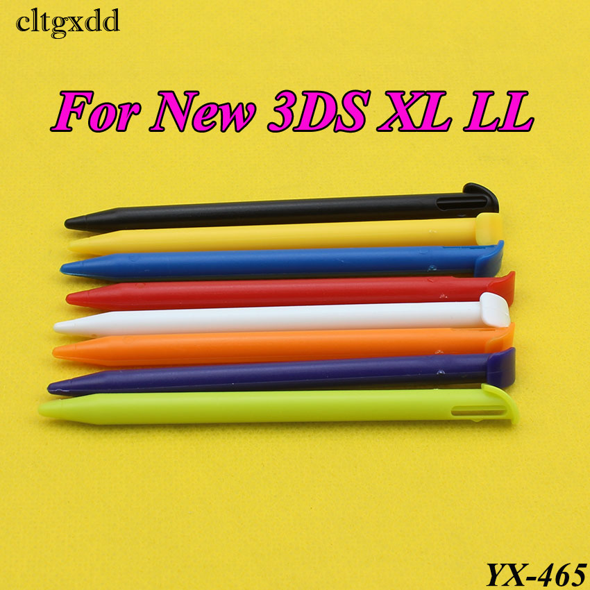 cltgxdd 1PCS Multi-Color Plastic Touch Screen Pen Stylus Portable Pen Pencil Touchpen Set for Nintendo For New 3DS XL LL replacement touch screen digitizer module for nintendo dsi xl ll page 2