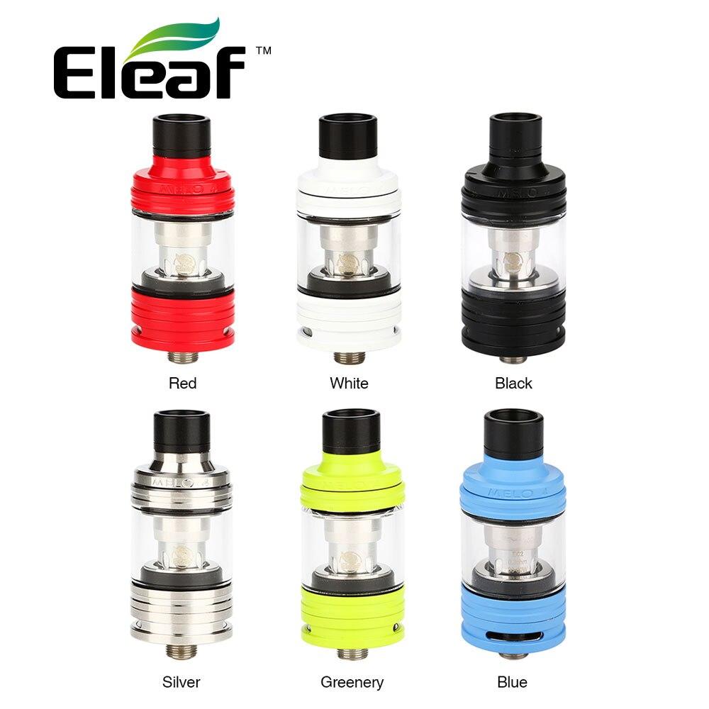 100% Originale Eleaf Melo 4 Serbatoio Atomizzatore 2 ml D22/4.5 ml D25 serbatoio Fit Eleaf IKuun I80/I200 MOD 0.3ohm/0.5ohm EC2 Coil Testa E Cig