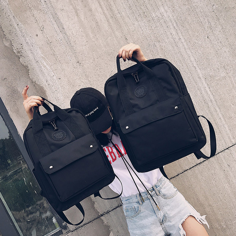 High Quality Fashion Waterproof Women Backpack For School Teenagers Girls Stylish School Bag Ladies Canvas Backpack Female #1