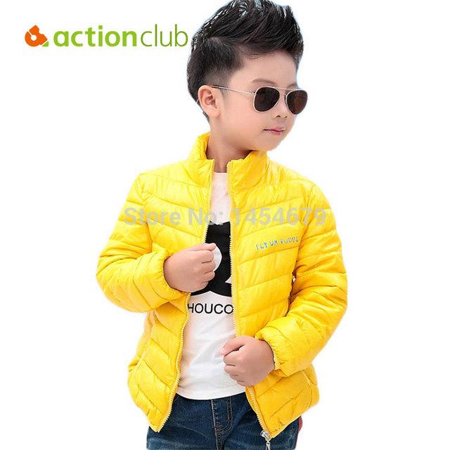¡ VENTA CALIENTE!!! niños Niños invierno outwear Chaqueta para chicas y muchachos del bebé Niños chaqueta Pato abajo muchachas de la capa caliente ropa de moda