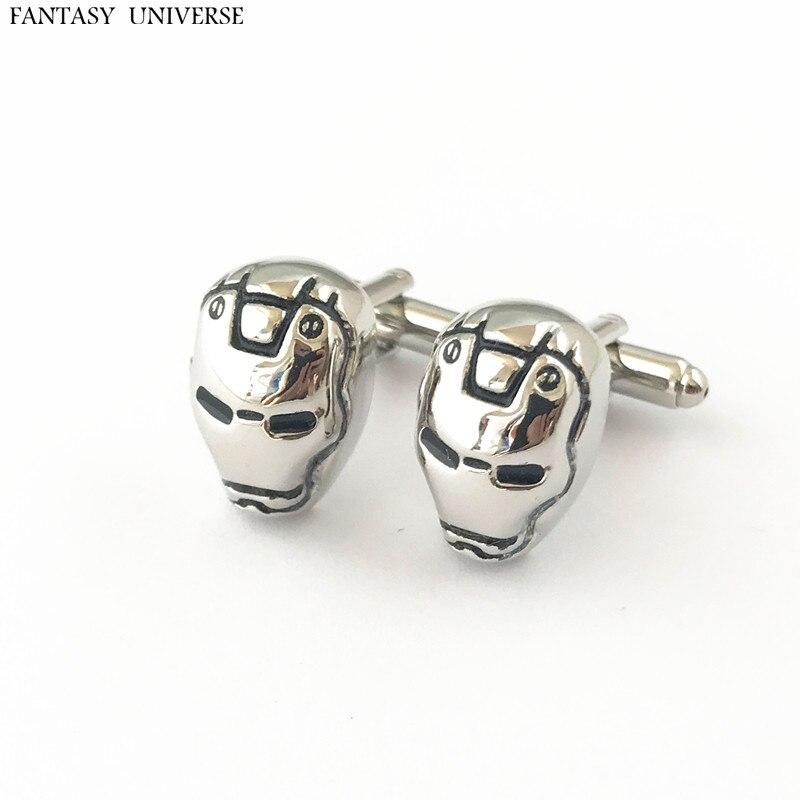 FANTASY UNIVERSE Freeshipping 20pc a lot Iron man Cufflinks ZSERDSDD01
