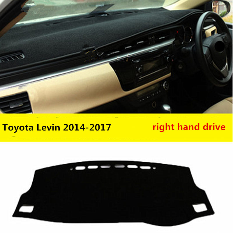 Hot Selling Car Dashboard Pad Motor dashboard For Toyota Levin 2014-2017 for Right Hand Drive Toyota with Free Shipping
