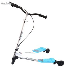 New Kids Scooter Folding 3 Wheel Scooters Kick Scooter Swing Tri Slider Motion Winged Drifter Push Twisting Scooter