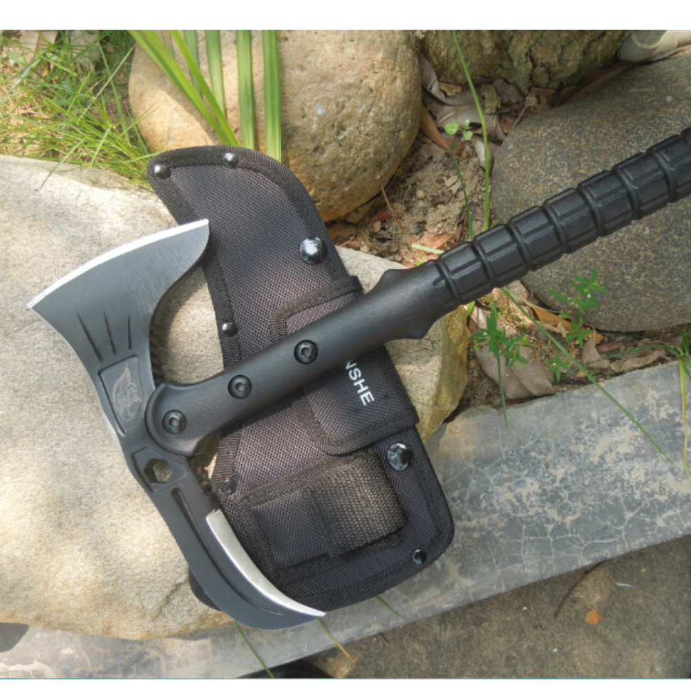 Najlepsze Survival Outdoor Tomahawk Axe taktyczne Cold Ice Axe - Narzędzia ręczne - Zdjęcie 6