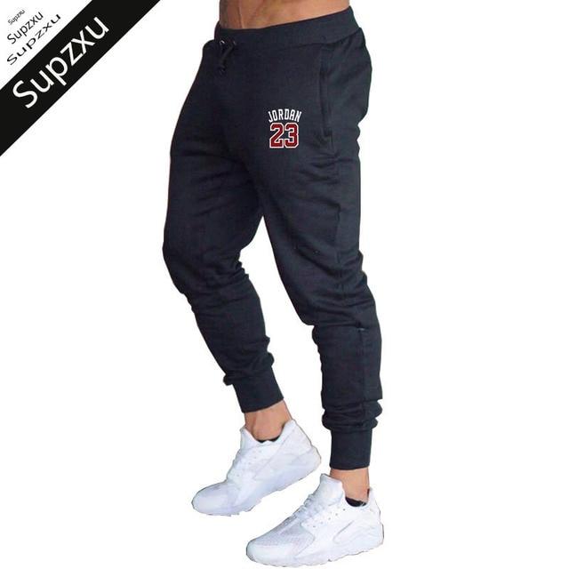 Hommes Supzxu Hip Mens Jogging Coton Fitness Track Pantalon IbfvY76gy