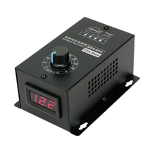 Dijital ekran 0 ~ 100% ayarlanabilir DC 6 90V 15A DC Motor hız kontrolörü PWM regülatörü 12V 24V 48V 60V 72V 90V 1000W geri dönüşümlü