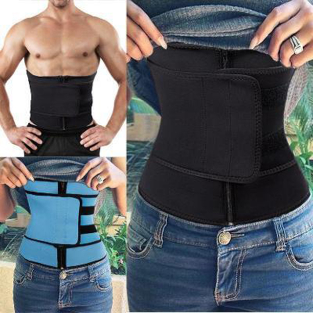 Postpartum Shapewear Body Shaper Neoprene Bandage Sauna Sweat More Waist Trainer for women weight loss corset Belly Band belt 1