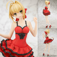 Anime Fate EXTRA Sexy Figure Saber Nero Claudius Red Suit Version PVC Action Figure Collectible Model Kids Toys Doll 25cm WX213