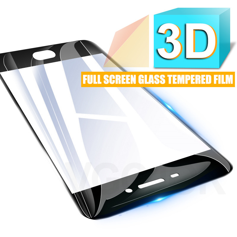 Image 2 - 3D Full Cover Protective Glass On The For Meizu M3 M5 M6 Note M6 M6S M6T M3S M3E M5S M5C Pro 7 Tempered Screen Protector Glass-in Phone Screen Protectors from Cellphones & Telecommunications