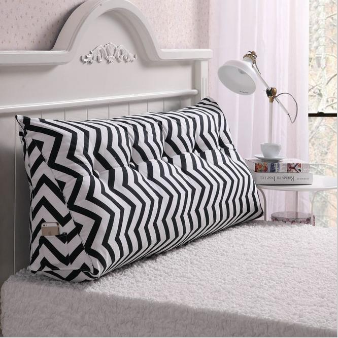 Cotton Canvas Printing Long Pillow Seat Cushion For Bed Backrest Large Waist In From Home Garden On Aliexpress Alibaba Group