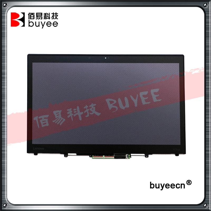 "Genuine 14"" LCD Screen For LENOVO Thinkpad X1 Yoga WQHD IPS FRU-00HN876 LCD Screen Display Assembly 2560*1440 with frame"