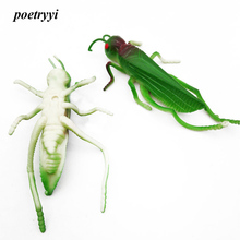 POETRYYI 11.5cm 26g Green Grasshopper insects Fishing Lures Flying Wobbler Lure Rubber bait Lifelike Artificial baits Pesca30