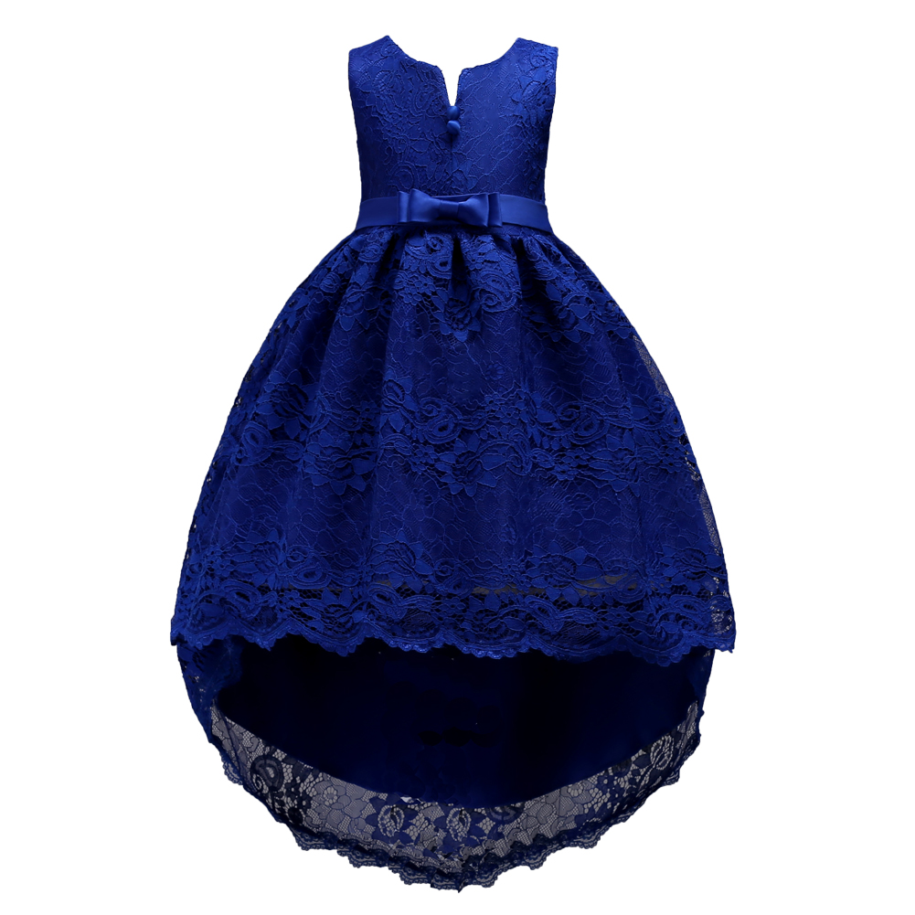Knee Length Junior High Low Lace Dresses for Teenager Pink Wine Red White Royal Blue Dress Evening Gown for Girls 2-14Knee Length Junior High Low Lace Dresses for Teenager Pink Wine Red White Royal Blue Dress Evening Gown for Girls 2-14