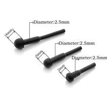 500 cái/lốc Kéo Silencer Stopper Bộ Phận Silencieux Cắt Tóc Styling Kéo các Phụ Kiện Muffler Bumpers Silenciador