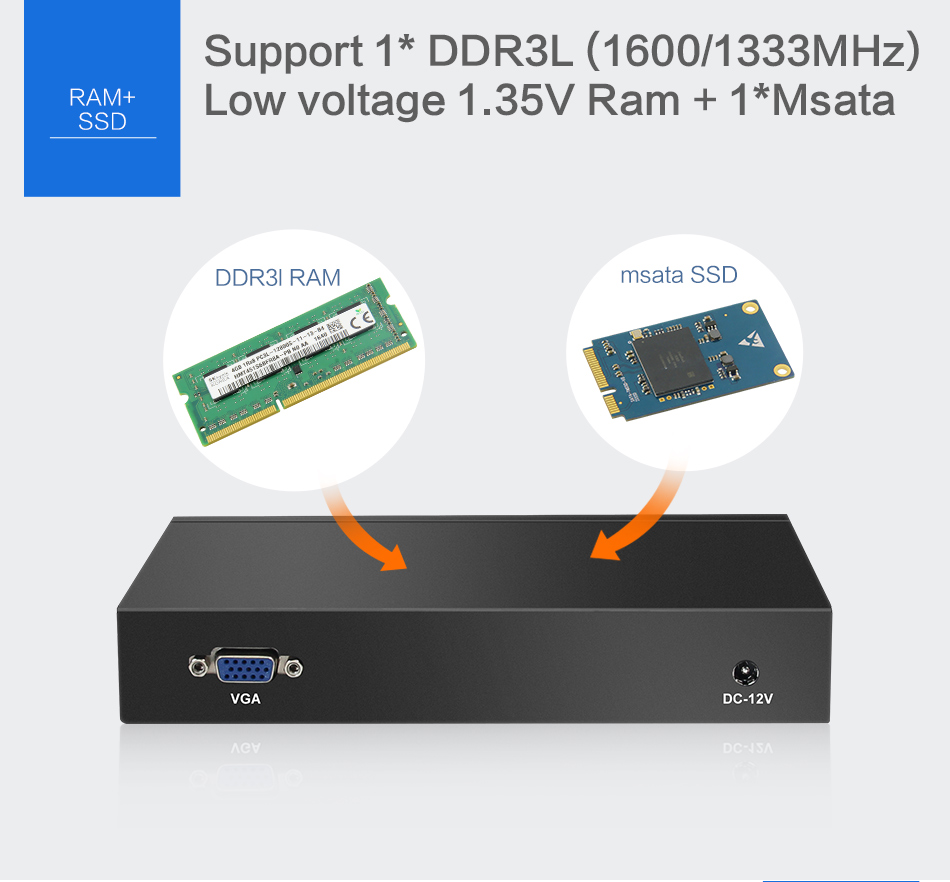 hight resolution of 4 gigabit ethernet lan mini pc firewall routers celeron j1900 quad core pfsense fanless mini computer 2 0ghz vga usb2 0 rj45 in mini pc from computer