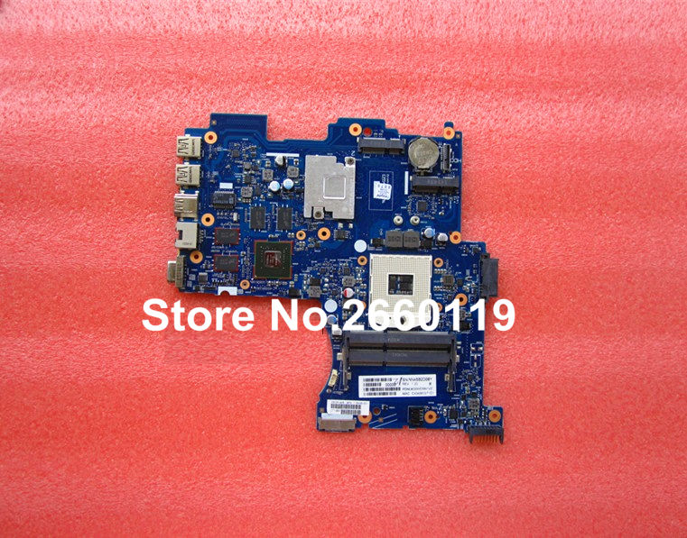 laptop motherboard for HP 718445-501 system mainboard fully tested and working well