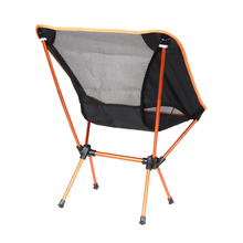 New Portable Light weight Folding Camping Stool Chair Seat for Fishing Festival Picnic BBQ Beach With Bag Orange