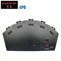 New Designed 5 Head DMX LPG Fire Machine 5 Finger LPG Flame Machine 90V/110V/220V DMX 512 Function Safe to Use 5 Shot Gas
