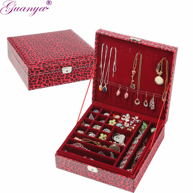 Jewelry Box Makeup Case Jewelry Organizer Carrying Cases with
