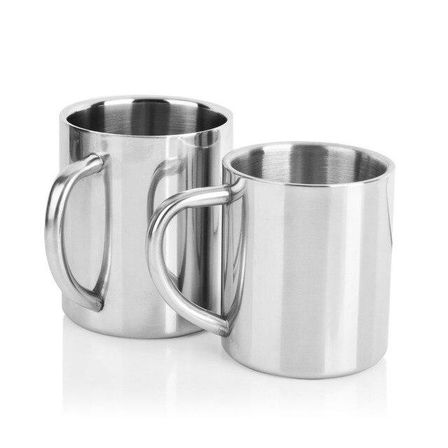 Double Wall Stainless Steel Coffee Mug