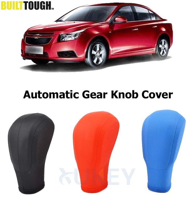 US $3 59 10% OFF|Silicone Car Gear Shift Knob Cover For Chevrolet Cruze  2009 2016 Automatic Auto Gearshift Head Handball Lever Collar Covers  Case-in