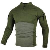 Военная армейская футболка мужская с длинным рукавом камуфляжная тактическая рубашка Охота боевой солдат поле футболки верхняя одежда