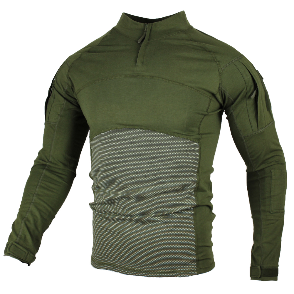 Military Army T-Shirt Men Long Sleeve Camouflage Tactical Shirt Hunt Combat Soldier Field T-shirts Outwear