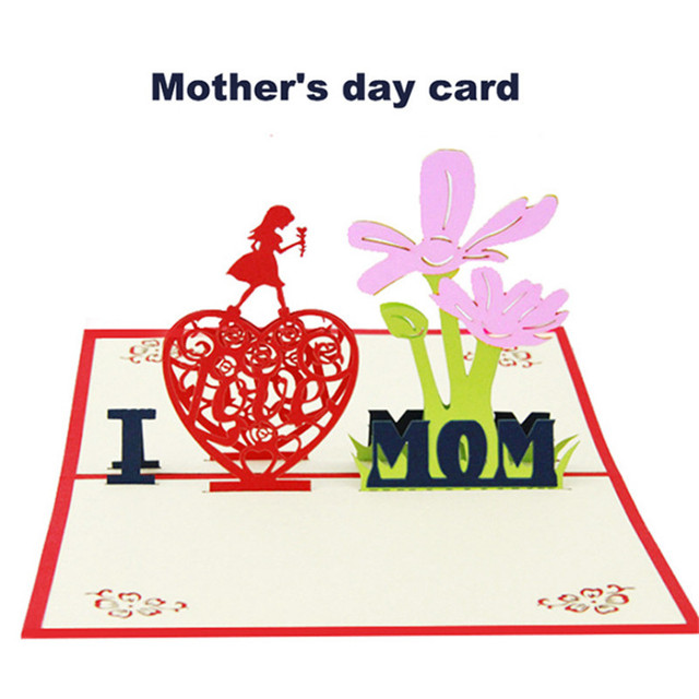 I love mom cards 3d pop up lover happy birthday anniversary greeting i love mom cards 3d pop up lover happy birthday anniversary greeting cards special gift m4hsunfo