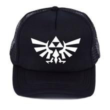 Legend of Zelda Triforce Alado chapéu de basebol Snapback ajustado malha  cap sombreiro Hat Hip Hop ae4079bf966