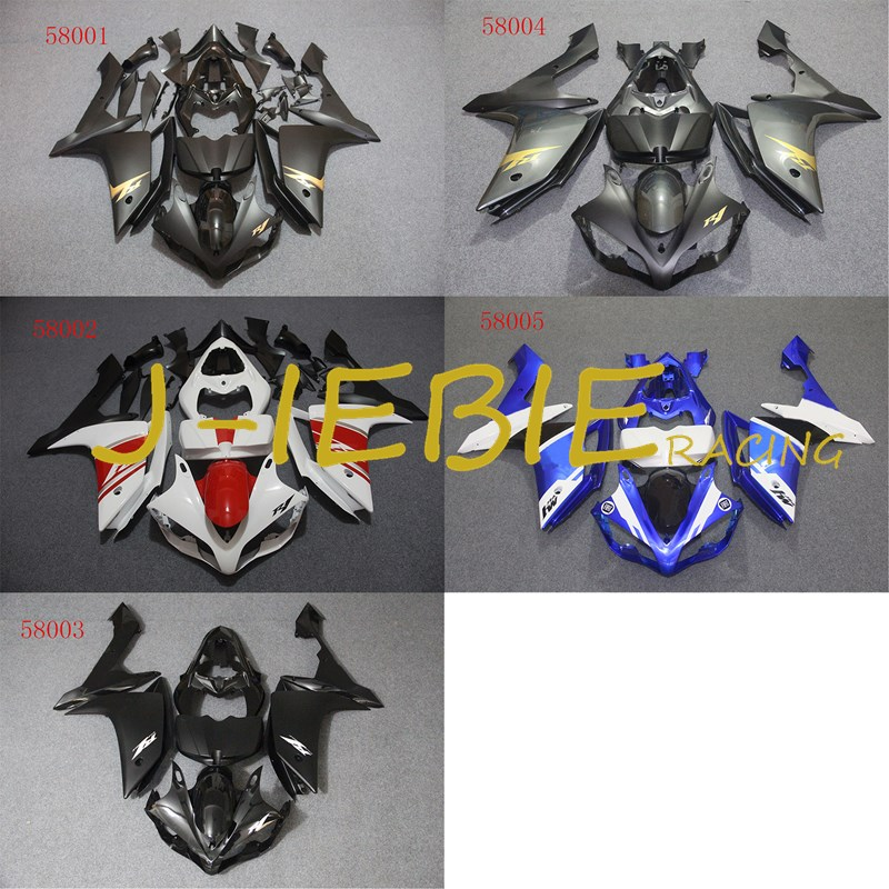ABS Injection Fairing Body Work Frame Kit for Yamaha YZF 1000 R1 2007 2008
