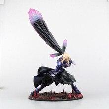 Anime Fate Stay Night Zero Saber Alter Vodigan Ver. 18CM Mask Hammer Sword Toys Cartoon PVC Action Figure
